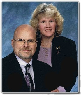 Pastor Bill and his wife Jodi